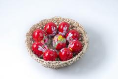 Favilág tojás fa- festett nagy