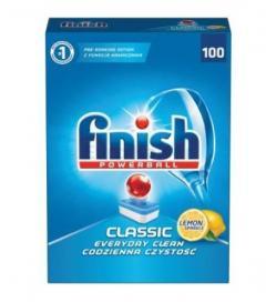 Finish mosogatógép tabletta 100 db-os 1600g Classic Lemon