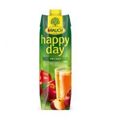 Happy Day gyümölcslé 1 L Tetra pack Alma 100%
