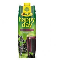 Happy Day gyümölcslé 1 L Tetra pack Feketeribizli 25%