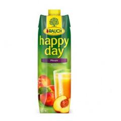 Happy Day gyümölcslé 1 L Tetra pack Őszibarack 50%