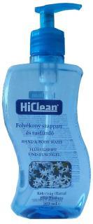 Hiclean szappan folyékony Antibakteriális 500 ml Kék virág HIBF-500