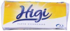 Higi papírzsbekendő 100 db-os 3 r. 20x17 cm 100% cellulóz