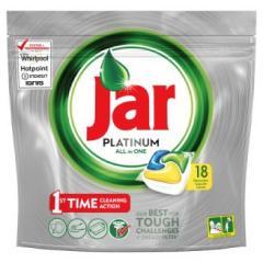 Jar mosogatógép kapszula 18 db-os 268 g Platinum Lemon