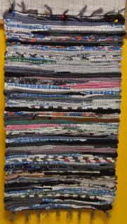 JBE szőnyeg pamut 50x90 cm csíkos - több színben