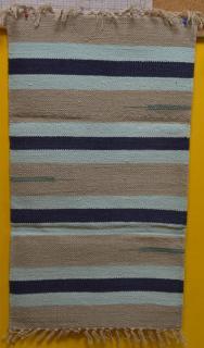 JBE szőnyeg pamut 50x90 cm VELÚR - csíkos - több színben