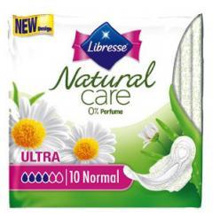 Libresse betét egészségügyi szárnyas 10 db-os Aloe vera / Camomille Normal Natural Care