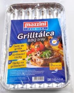 Mazzini grilltálca 34x23 cm 3db-os