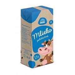 Mleko tej 1 L zsírtartalom 1.5 %
