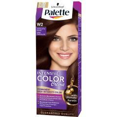 Palette hajfesték 50 ml Intensive Cream Color- Étcsokoládé - W2