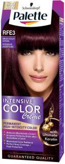 Palette hajfesték 50 ml Intensive Cream Color Intenzív Padlizsán - RFE3
