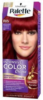 Palette hajfesték 50 ml Intensive Cream Color- Intenzív Vörös - R15