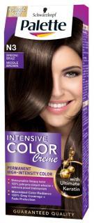 Palette hajfesték 50 ml Intensive Cream Color- Középbarna - N3