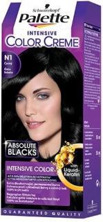Palette hajfesték 50 ml Intensive Cream Color Ónix Fekete - N1