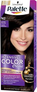 Palette hajfesték 50 ml Intensive Cream Color Ónix Sötétbarna - N2