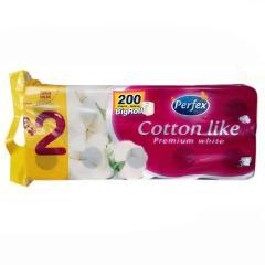 Perfex Cotton Like wc papír 16 t. 3 r. 200 lap**