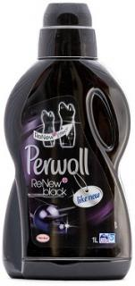 Perwoll mosószer folyékony 900ml / 1L ReNew Black Effect