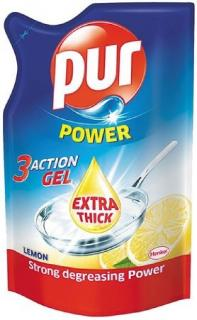 Pur mosogatószer utántöltő kézi 450 ml Lemon