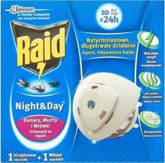 Raid szúnyog -és légyírtó készülék korongos 1+ 1utántöltő