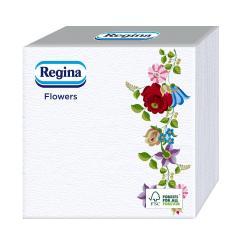 Regina Flowers szalvéta 45db-os 33x33cm Kalocsai mintás II