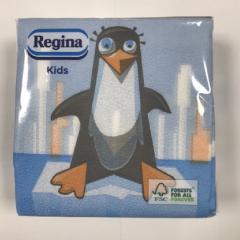 Regina Kids szalvéta 45db-os 30x29cm mix