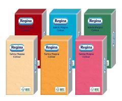 Regina Salvia Magna szalvéta 30 db-os COLOR MIX Színes