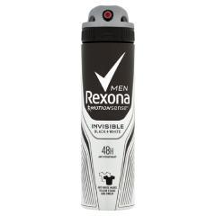 Rexona dezodor 150 ml Invisible Black and White férfi