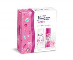 Rica ajándékcsomag Dream Satin (deo 120 ml + tüsfördő 200ml)
