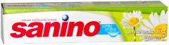 Sanino White Smiles felnőtt fogkrém 50ml Gentle Whitening Kamillás