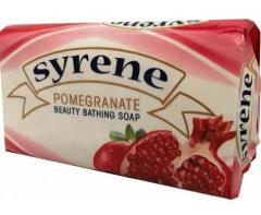 Syrene krémszappan 100g Gránátalma