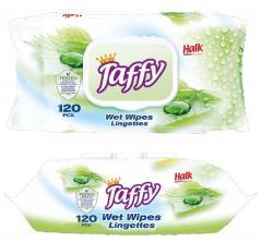 Taffy törlőkendő nedves 120 db-os Prémium