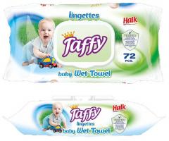 Taffy törlőkendő nedves 72 db-os Prémium