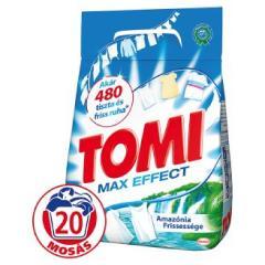 Tomi mosópor 1,17/1,4 kg  18-20 mosás fehér ruhához - Amazónia Frissesség Max Effect 18-20 mosásos