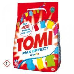 Tomi mosópor 1,17/1,4 kg 18-20 mosás Színes ruhához - Color - Max Effect 18-20 mosásos