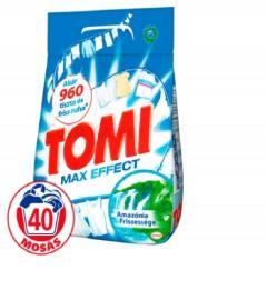 Tomi mosópor 2,8 kg/ 3 kg 40 mosás Amazónia Frisseség - Fehér ruhákhoz