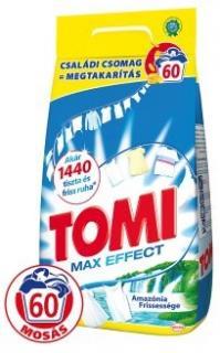 Tomi mosópor 4,2 kg 60 mosás Fehér ruhához- Amazónia Frissesége - Max Effect 60 mosásos