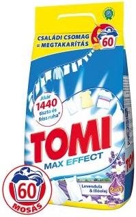 Tomi mosópor 4,2 kg 60 mosás Fehér ruhához- Levendula és Illóolaj