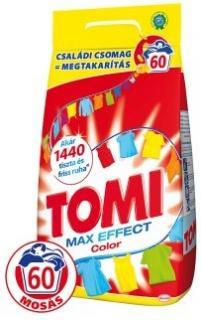Tomi mosópor 4,2 kg 60 mosás Színes ruhához- Color Max Power 60 mosásos