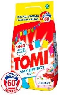 Tomi mosópor 4,2 kg 60 mosás Színes ruhához - Japánkert és Tavirózsa - Aromaterápia Color 60 mosásos