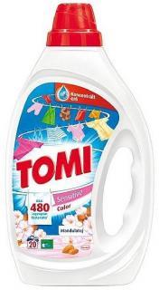Tomi mosószer folyékony 1 L  Color Sensitive Mandulatej
