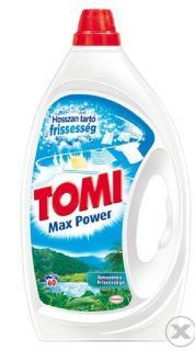 Tomi mosószer folyékony 3 L Amazónia Frissessége Max Effect Fehér és világos ruhákhoz 60 mosásos
