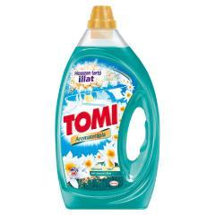 Tomi mosószer folyékony 3 L Aromaterápia Bali Lótusz és Liliom Fehér és világos ruhákhoz 60 mosás