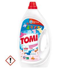 Tomi mosószer folyékony 3 L Color Sensitive Mandulatej 60 mosásos