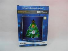 Troya ablakdekoráció karácsonyi led Karácsonyfa