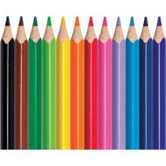 Troya Ceruza 12db-os,színes G19-63