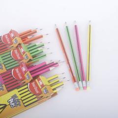 Troya Ceruza 3 szögletű 12 db-os radíros végű HB ceruza  (270017)