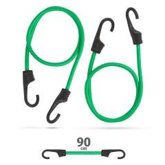 Troya gumipók szett 2db-os - 90cm x 8mm - zöld - (55761C)