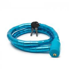 Troya Kerékpár görgős lakat 18 mm / 100 cm - kék (57078BL)