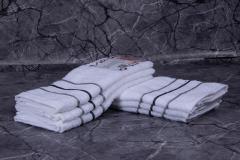 Troya konyharuha fehér, vállfán - konyhai kéztörlő - 3db-os ( 36x55 cm ) - TRO-317