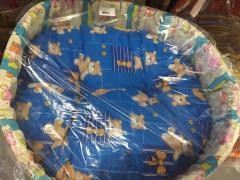 Troya kutyaágy 60x45 cm textil (LSZ)